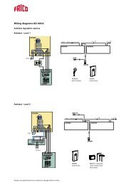 Wiring diagrams AD 400 A