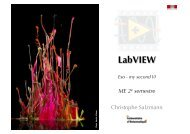 LabVIEW - Automatic Control Laboratory
