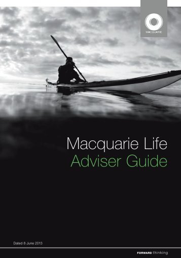 Macquarie Life Adviser Guide