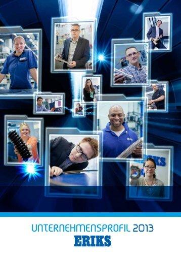 Unternehmensprofil 2013 - Eriks.com