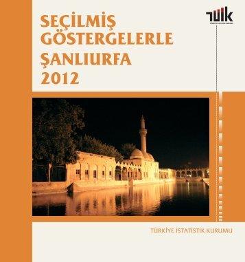 ŞANLIURFA - Türkiye İstatistik Kurumu