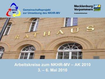 Ablauf - Einzelinformationen - und Rechnungswesen - Mecklenburg ...