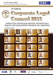 Corporate Legal Counsel 2013 - Blue Business Media