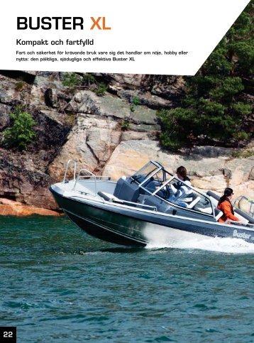 Nya Buster XL 2012 - teknisk information, fart och ... - Flipper Marin