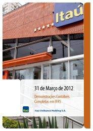 IFRS310312.pdf - Banco Itaú