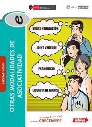 OTRAS MODALIDADES DE ASOCIATIVIDAD - CRECEmype
