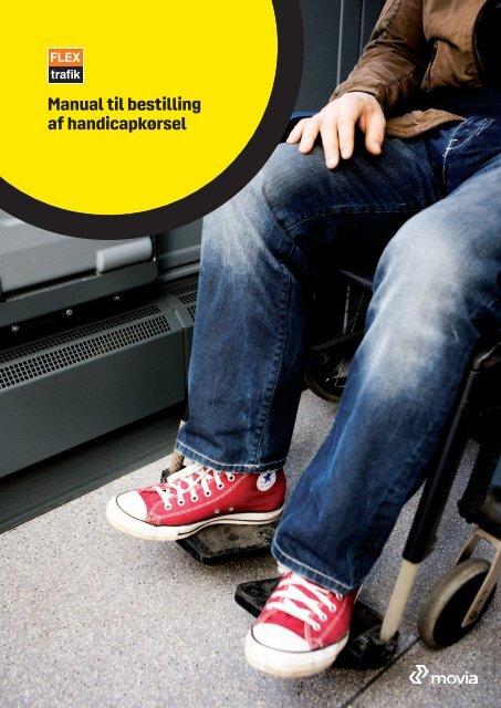 Manual til bestilling af handicapkørsel - Movia