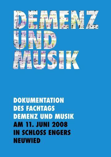 DOKUMENTATION DES FACHTAGS DEMENZ UND MUSIK AM 11 ...