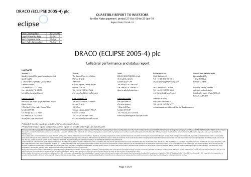 Draco IR Print - fixed CoD - Barclays Capital