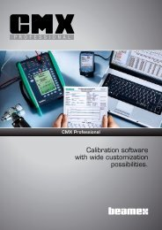 Calibration software with wide customization ... - iandasolutions.in