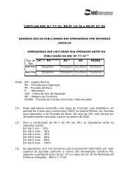 Cartilha de Garantias Financeiras Consolidado - ANS