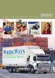 2007 Annual Report - Wridgways