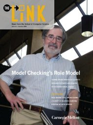 Model Checking's Role Model - Link home page - Carnegie Mellon ...
