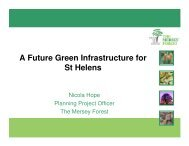 A Future Green Infrastructure for St Helens