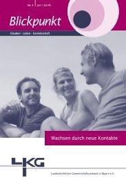 cjb - Landeskirchlicher Gemeinschaftsverband in Bayern e.V.