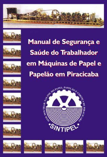 Manual de Segurança e Saúde do Trabalhador em - Sindicato dos ...