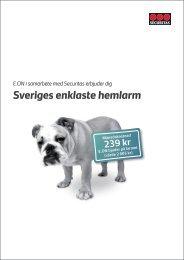 Sveriges enklaste hemlarm - E.ON