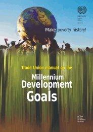 Make poverty history - International Labour Organization