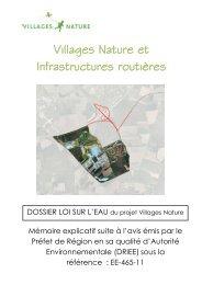 Mémoire explicatif consécutif à l'avis AE - DRIEE - Marne-la-Vallée