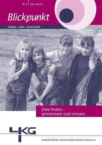 aktuellen Ausgabe des Blickpunktes - Landeskirchlicher ...