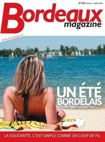 Bordeaux magazine n°366 - Juillet - Août 2009
