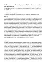 66 - Desenhando com o Clima e a Vegetação: um Estudo de ... - USP