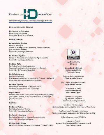 Nelson Barranco Pilides - Universidad Tecnológica de Panamá