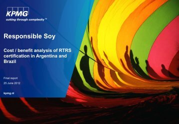 Cost-Benefit Analysis Certification in Argentina and Brazil - IFC