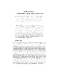 MRF Labeling for Multi-View Range Image Integration - Ralph Martin