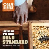 Annual Report 2008-2009 - Cafedirect