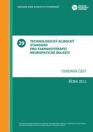 29 - Webové aplikace související s kvalitou ve zdravotnictví