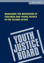 Managing the Behaviour of Children and Young ... - PRICE Training