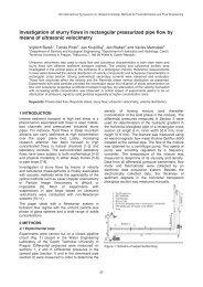 Investigation of slurry flows in rectangular pressurized pipe ... - ISUD