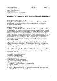 Bedömning av hälsokonsekvenser av planförslaget ... - Kristianstad