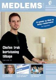 Medlemsnyt 1/2011 - Det Faglige Hus