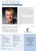 Medlemsnyt 1/2011 - Det Faglige Hus - Page 2
