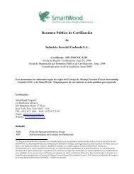 Resumen Público de Certificación - Rainforest Alliance
