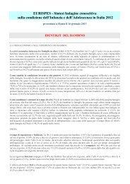 Sintesi Indagine conoscitiva sulla condizione dell ... - CNOS/Scuola