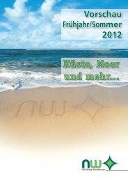 Vorschau Frühjahr/Sommer 2012 Küste, Meer und mehr... - NW-Verlag