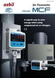 azbil Air Flowmeter - Sensors