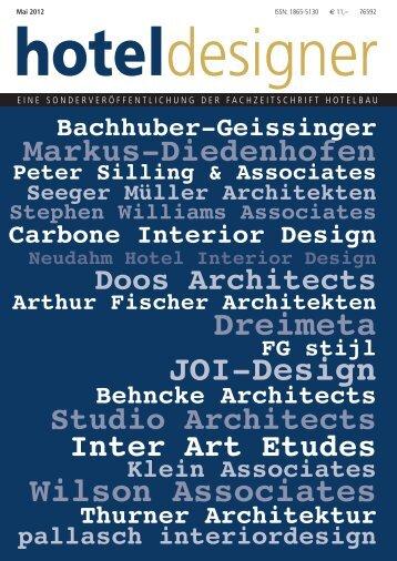 hoteldesigner 2012 der hotelbau - pallasch interiordesign