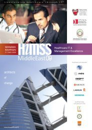 Healthcare IT & Management Excellence - HIMSS Middle East