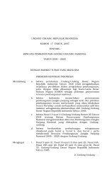 UU No. 17 Tahun 2007 - Website Jaringan Dokumentasi dan ...