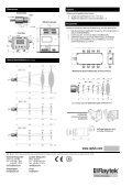 MI3 Raytek Barrel-Style Pyrometer - Page 2