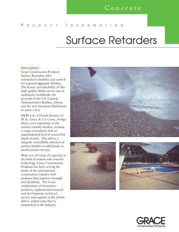 AC-002>Surface Retarders - masco.net