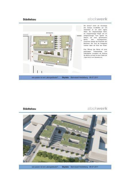 Einflussfaktor TGA - Beispiele Projekt Sky Labs - Die Heidelberger ...