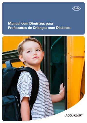 Manual com Diretrizes para Professores de Crianças com Diabetes
