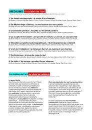 Document - Connaissance de l'Art Contemporain