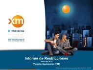 04_Informe_Restricciones_TXR_06_2013 - XM