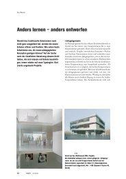 Anders lernen – anders entwerfen - studer simeon bettler GmbH